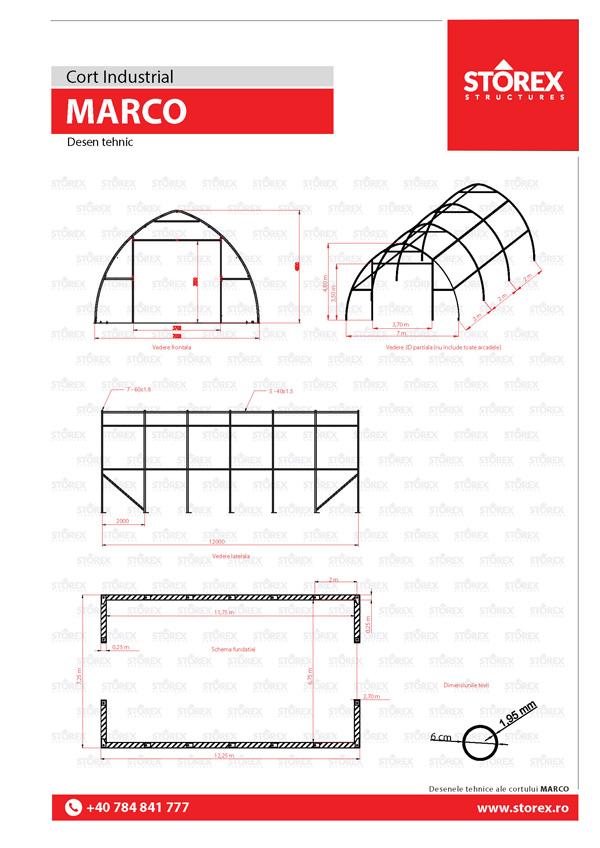 MARCO-Cort-Industrial-desen-tehnic